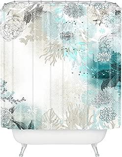 Deny Designs Iveta Abolina Seafoam Shower Curtain, 69