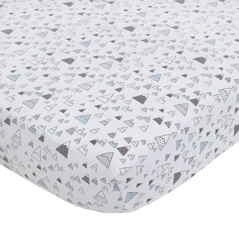 Dwell Studio Max 85% OFF Bear Hugs Cotton Super Blue Fitted 55% OFF Soft Crib Sheet