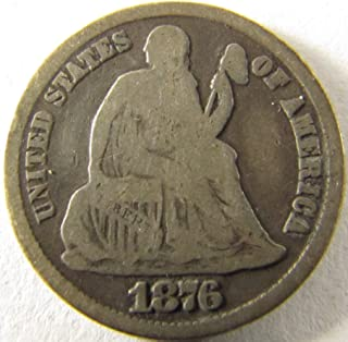 carson city seated dime