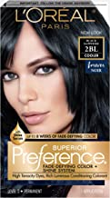 L'Oréal Paris Superior Preference Fade-Defying + Shine Permanent Hair Color, 2BL Black Sapphire, 1 kit Hair Dye