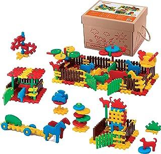 Marioinex 900956 Farm, 240 Pieces Packed in A Carton, Multi-Colour