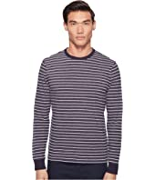 Jack Spade - Striped Long Sleeve Crew