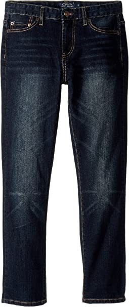 Lucky Brand Kids - Core Denim Dark Blue Skinny in Barite (Little Kids/Big Kids)