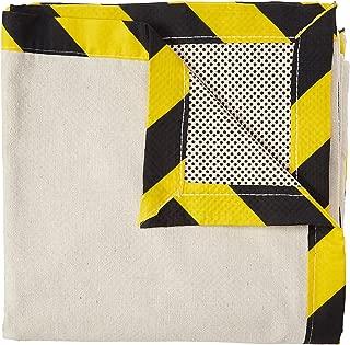 CoverGrip 41510 041510 Heavy Duty Safe Path 10 oz Canvas Safety Drop Cloth, 4' x 15'