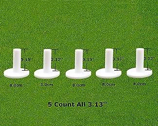 Best rubber golf tees for mats