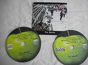 The Beatles Get Back Rooftop Concert / Let It Be Movie New Item! DVD/CD set