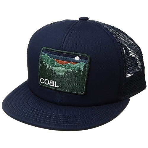 62fea95ed5d3a Coal Men s The Hauler Mesh Back Trucker Hat Adjustable Snapback Cap