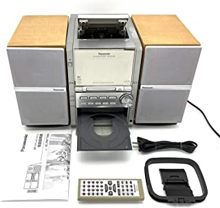 Panasonic パナソニック SC-PM77MD-S シルバー MDステレオシステム (MD/CD/カセットコンポ) (本体SA-PM77MDとスピーカーSB-PM77のセット)