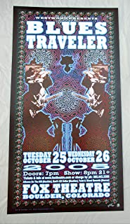 2005 Blues Traveler Concert Poster Fox Theatre