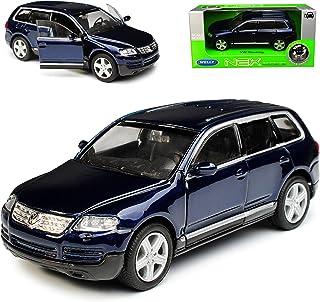 VW Volkswagen Touareg II Blau Schwarz Ab Modell 2010 Ab Facelift 2014 H0 1//87 ..