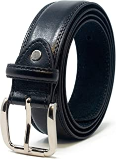 Mens Double Stitched Leather Lined Suit Trouser Belt by 'Ossi'
