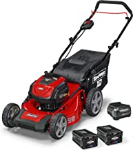 Snapper XD 82V MAX Cordless Electric 19-Inch Lawn Mower Kit with (2) 2.0 Batteries and..
