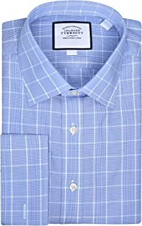 Charles Tyrwhitt Slim Fit Non Iron Mens Dress Shirt with French/Double Cuff
