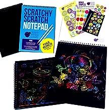 scratch art notepad