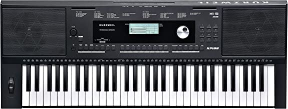 Kurzweil Home KP100 61-Note Portable Arranger Keyboard (KP-100)