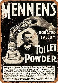 7 x 10 Metal Sign - 1901 Mennen's Toilet Powder - Vintage Look