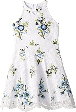 Us Angels Floral Lace Dress (Big Kids)
