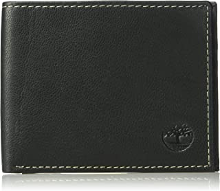 Timberland Men's Leather Wallet and Carabiner Gift Set, One Size
