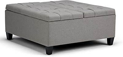 Amazon Com Upholstered Bench With Fold Out Sleeper And