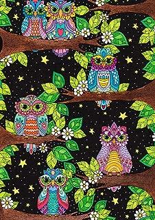 Toland Home Garden 1112123 Owl Branches 12.5 x 18 Inch Decorative, Garden Flag (12.5