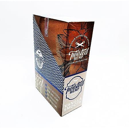 Twisted Hemp Designer Blends Premium Hemp Wraps (Vanilla Smooth)