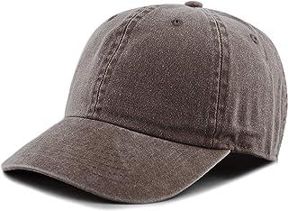 ef2f033d0ba THE HAT DEPOT 100% Cotton Pigment Dyed Low Profile Six Panel Cap Hat