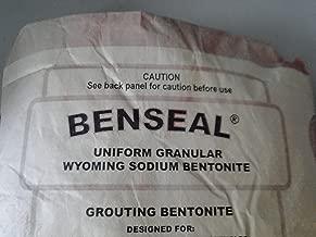 50 Pound Benseal Bentonite Drilling Mud Water Well Pond Foundation Seal Waterproof Baroid Grouting Wyoming Sodium Bentonite