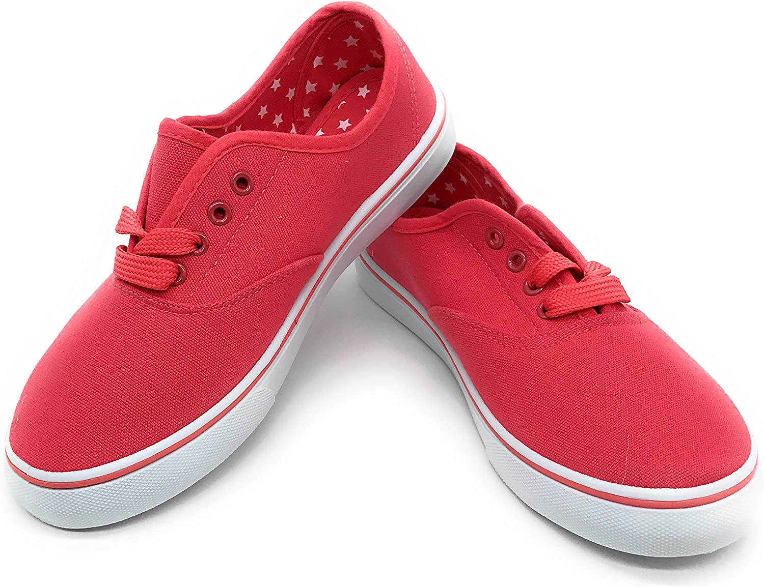 bluee Berry EASY21 Women Canvas Lace Up shoes Fashion Casual Comfort Sneakers