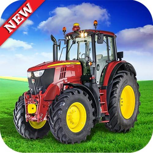World Tractor Farming harvester village Simulator