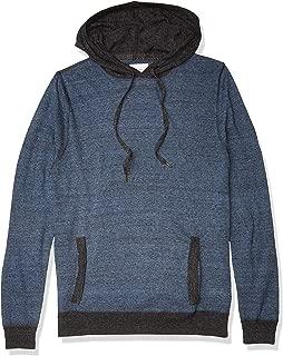 Billy Reid Men's Long Sleeve Contrast Stitch Pullover...