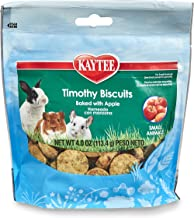 Kaytee Timothy Biscuits Baked Treat Apple 4 oz