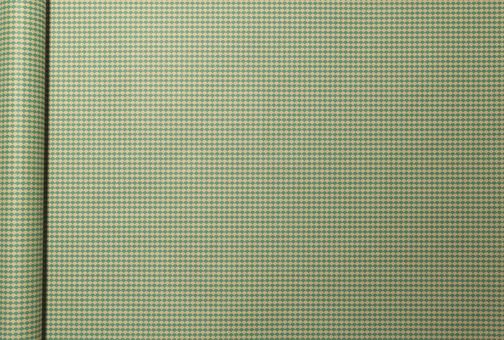 Clairefontaine 223824C 5 x 0.35 m Kraft Wrapping Paper - Green Scales