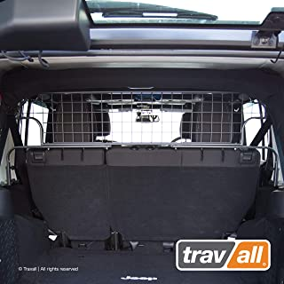 Travall Guard Compatible with Jeep Wrangler Unlimited (2006-2018) TDG1536 - Rattle-Free Steel Pet Barrier