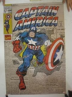 Captain America - Comic Cover Poster