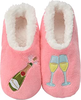 Pairables Womens Slippers - House Slippers - Prosecco Pink