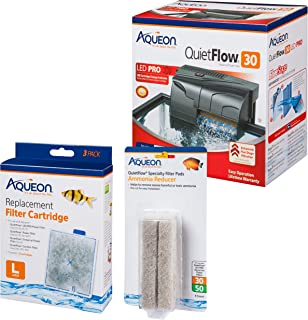 Aqueon Aquarium Filter Kit w/Media (4 Month Supply)