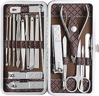 Beauté Secrets Manicure Kit, Pedicure Tools for Feet, Nail Clipper, Ear Pick Tweezers, Manicure Pedicure kit for Women and...