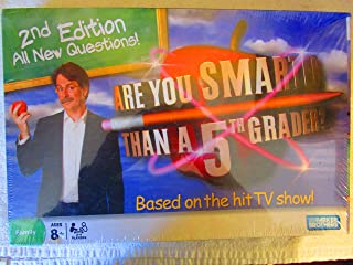 Are You Smarter Than A 5th Grader Game 2nd Edition