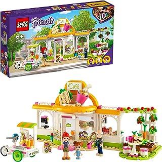 طقم العاب مقهى هارت ليك سيتي اورجانيك من ليغو فريندز 41444، لعبة تعليمية بيئية للاطفال من سن 6 سنوات فما فوق