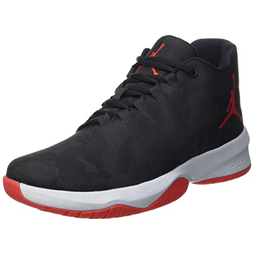 9de31f357f58fa Jordan Mens B.Fly Round Toe Lace-Up Basketball Shoes