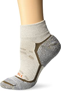 Merrell womens 1 Pack Cushioned Trail Glove Socks (Low/Quarter/Crew Cut Socks) Casual Sock