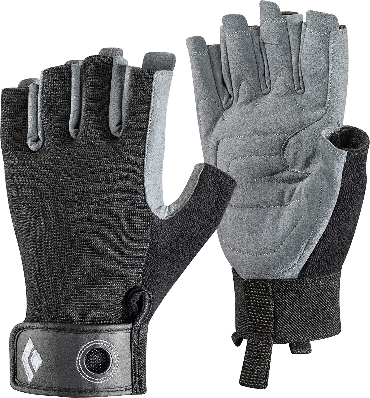 Black Diamond Crag Half-Finger Gloves discount Climbing excellence