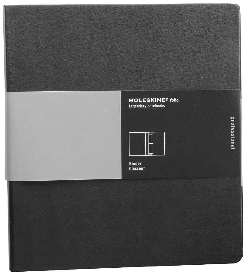 Moleskine Folio Professional 3-Ring Binder, Black (10.5 x 11.75)
