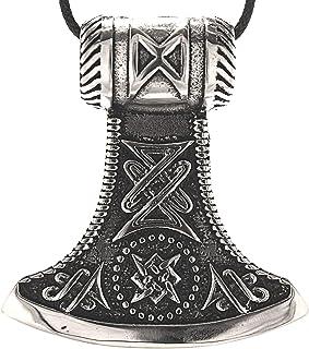 SET Wikinger Anhänger Axt Bronze massiv Bronzeschmuck Wikingerschmuck Streitaxt