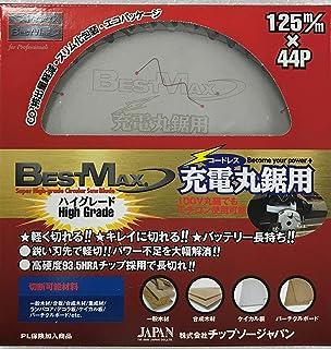 チップソージャパン『BEST MAX』充電丸鋸用