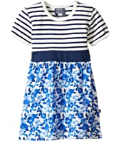 Toobydoo - Baby Blue Belt Dress (Infant/Toddler)