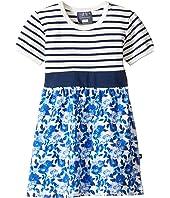 Toobydoo - Baby Blue Belt Dress (Infant/Toddler)