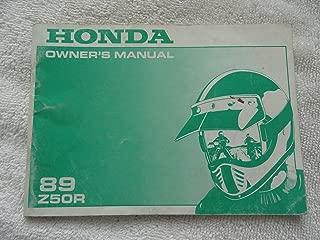 1989 Z50R HONDA OWNERS MANUAL