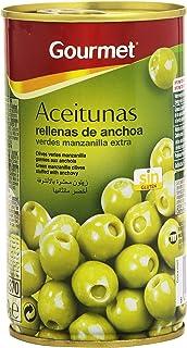 comprar comparacion Gourmet Aceitunas Rellenas de anchoa - 150 g