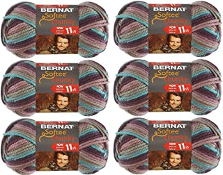 Bernat 161129-29121 Softee Chunky Ombre Yarn - Shadow